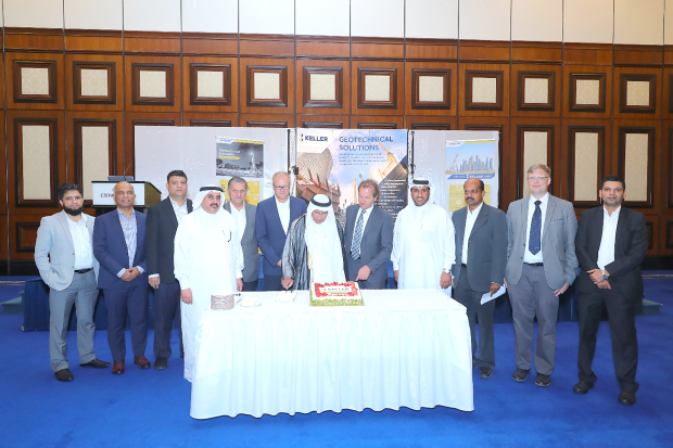 <p>International ground engineering contractors Keller Grundbau GmbH celebrated Keller Day and the completion of 45 years in Bahrain at a ceremony organised by Keller Bahrain branch manager Jeyaprakash Elango at the Crowne Plaza's Bahrain Conference Centre.</p>