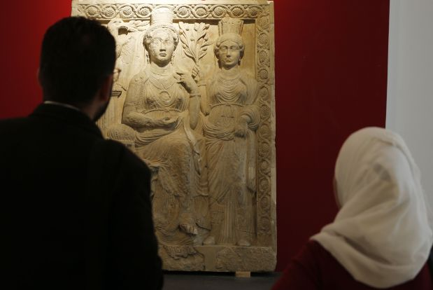 Middle East News: PHOTOS: Syria reopens Damascus antiquities museum