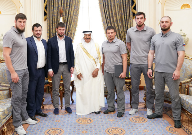 <p>The Premier yesterday received Chechen Vice-President for Security Affairs and Deputy Chief of the National Guard Daniel Martynov. </p>