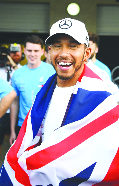 Hamilton feels 'very humbled' by winning a fifth world title