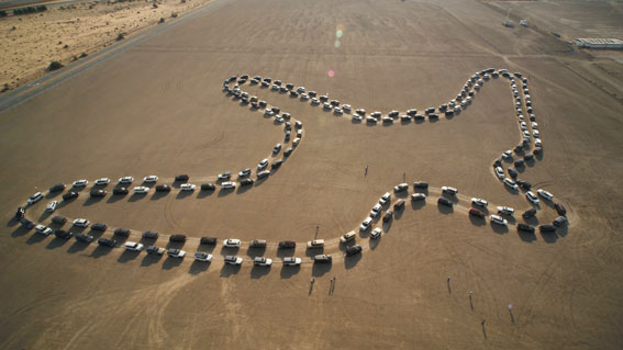 VIDEO: Nissan Patrol sets Largest Synchronised Car Dance record