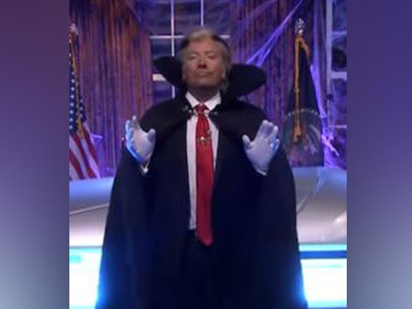 Jimmy Fallon wishes 'Happy Halloween' as Trump