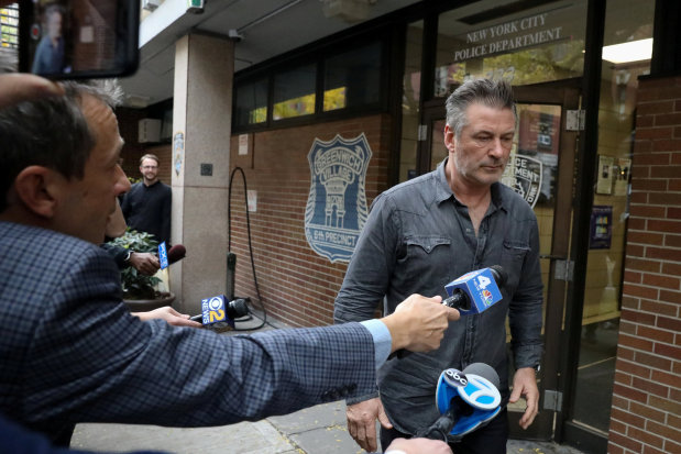 Actor Alec Baldwin charged over New York parking spot fight