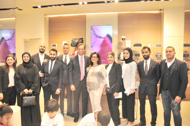Luxury fashion house holds re-branding event at Moda Mall Bahrain