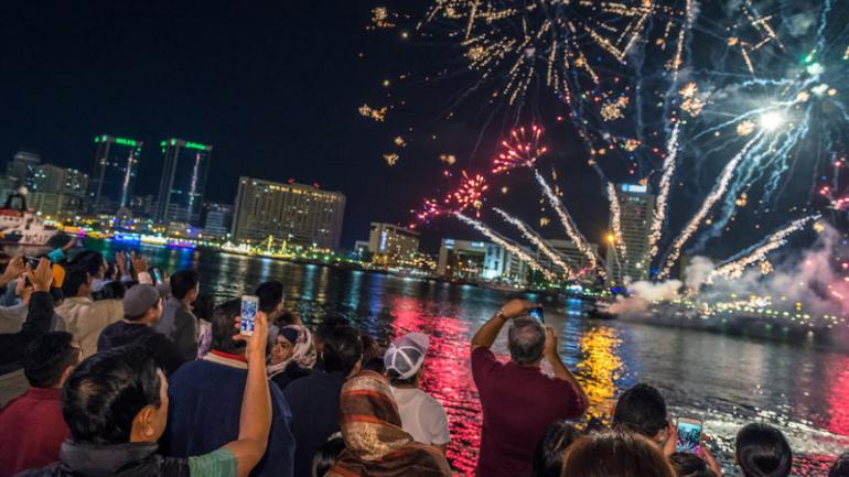 Dubai celebrates its first Diwali with Indian national anthem
