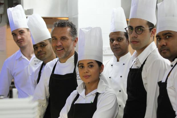 Michelin star chef showcasing innovative dishes