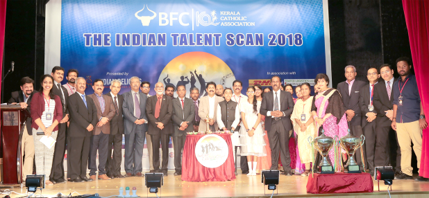 <p>A major talent competition began last night at the Kerala Catholic Association (KCA) in Segaiya. The inauguration ceremony of the Bahrain Financing Company (BFC)-KCA Indian Talent Scan 2018 was followed by patriotic song and devotional song contests. The competition ends on December 2 with an awards ceremony. Above, organisers and participants at the inauguration ceremony.</p>