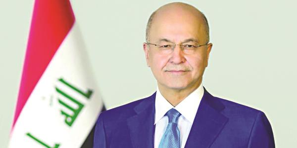 Iraqi president to visit Kuwait today as part of Gulf tour
