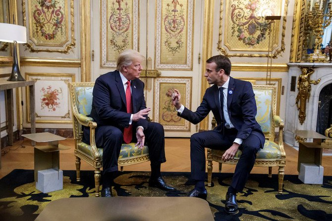 Trump assures Macron that Saudi Arabia is the cornerstone of stability in the Middle East