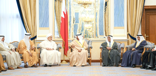 "<p><em>The Premier receives senior officials</em></p><p><em><br></em></p><p>MANAMA: Bahrain's people are its real asset, the Premier said yesterday.</p><p>His Royal Highness Prime Minister Prince Khalifa bin Salman Al Khalifa made the remarks when he received religious clerics, intellectuals, cultural and commercial figures, media persons, journalists and citizens.</p><p>He paid tribute to Bahraini people and praised their contributions and patriotic stances.</p><p>He reiterated his keenness to boost citizens' welfare, stressing that Bahraini people are the nation's inexhaustible resource and the way to achieve development goals.</p><p>The Prime Minister said the nation is going through a tough phase, stressing the need for unity to face plots and conspiracies. He also pointed out the government's success in curbing fake degrees, stressing their impact on the future of the educational system.</p><p>He asserted the community's need, now more than ever before, for a discourse promoting tolerance and coexistence.</p><p>He warned of the repercussions of any extremist discourse on the community, calling for vigilance and unity.</p><p>He also urged to make the best use of technology and social media websites to foster social cohesion and awareness.</p><p>The Premier said Bahrain is at the threshold of a new democratic chapter, calling to support preparations for forthcoming elections.</p><p>""Everyone has to enrich the democratic march and benefit from past lessons in order to achieve common goals,"" he said.</p><p><em><br></em></p>"