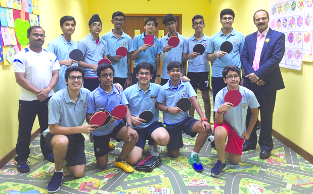 Table tennis glory for NMS-DPS