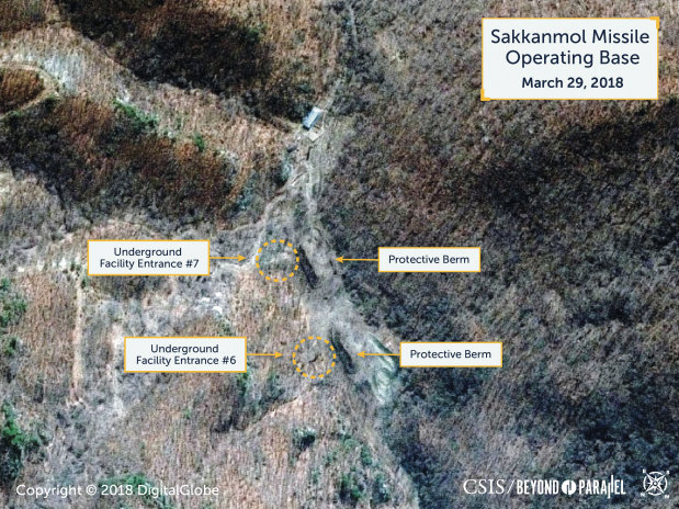 North Korea 'hiding missile bases', US researchers say