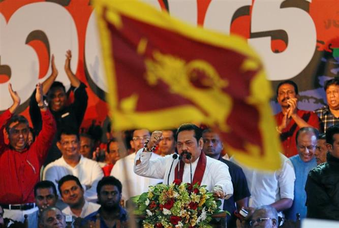 Sri Lanka parliament votes out Rajapakse's government