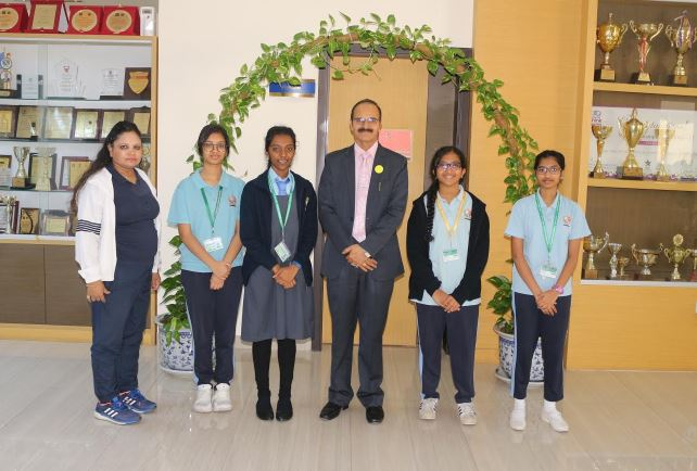 NMS sweeps CBSE schools chess competition