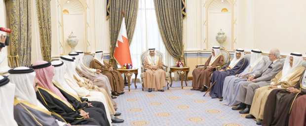 Prime Minister receives Royal Family members
