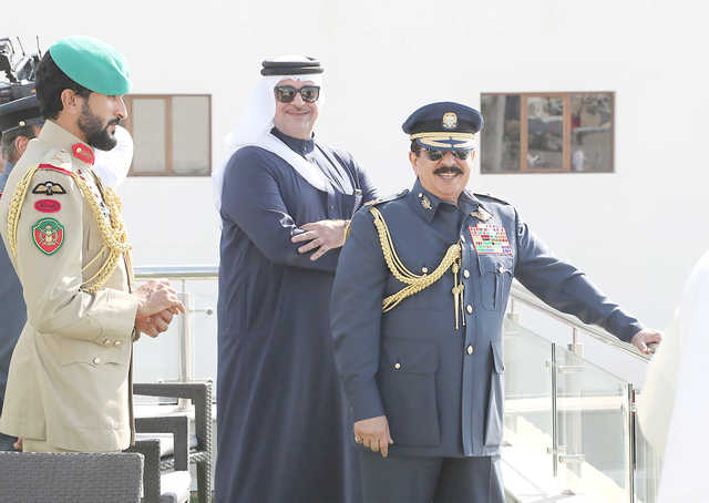 His Majesty hails air show success