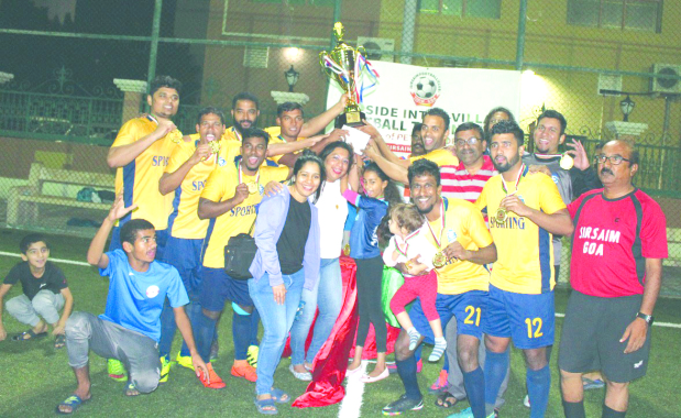 Assagao bag seven-a-side football title