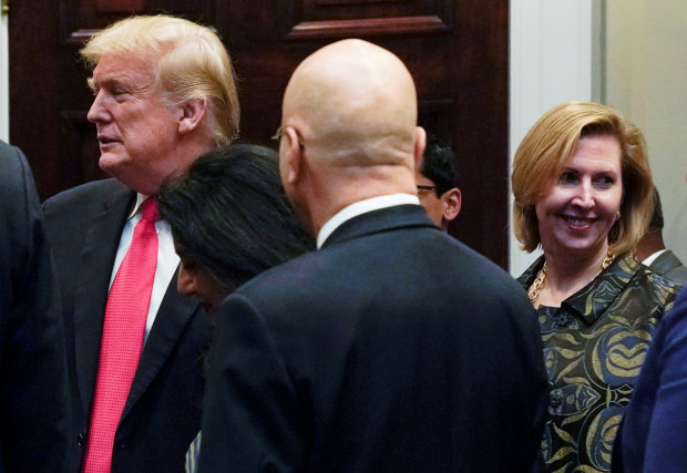 Trump aide Ricardel forced out after showdown with Melania