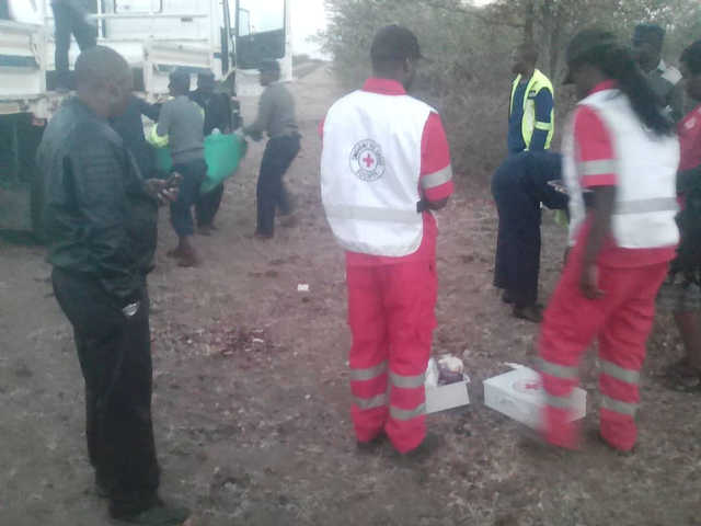 Suspected gas cylinder blast kills 42 on Zimbabwe bus
