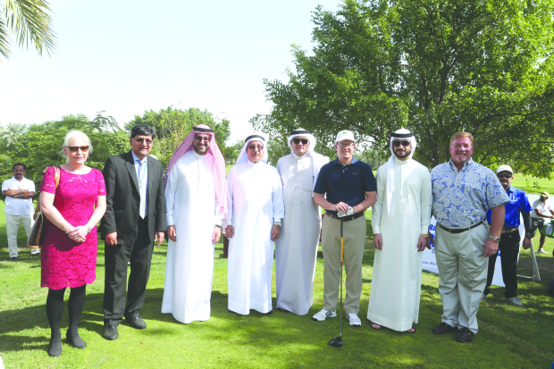 Al Hawaj 1 set pace in AMH Charity golf