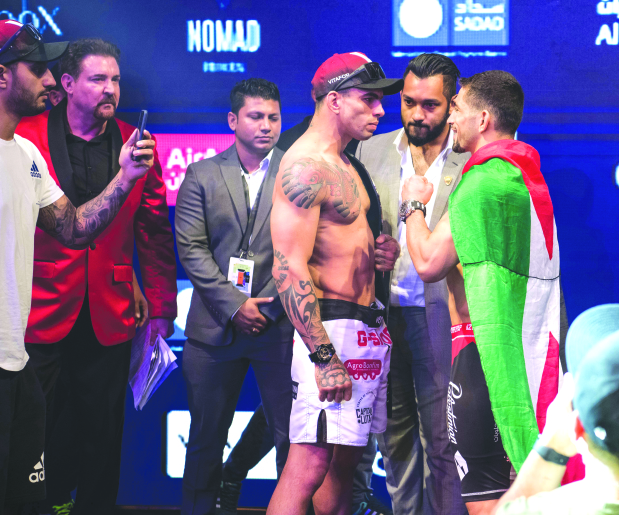 Top fighters set for title clashes