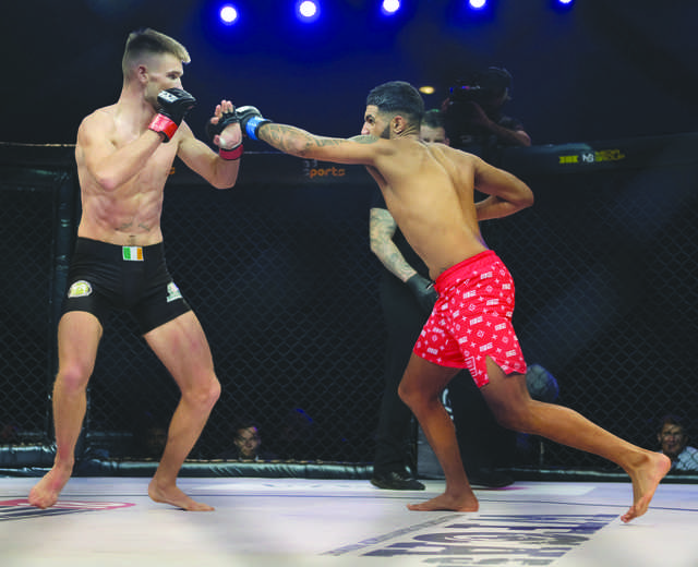 Brave 18 a big hit among MMA fans