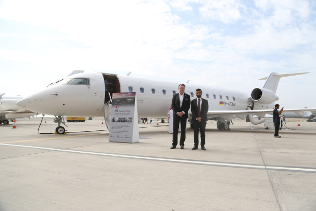 $8.95m Bombardier Challenger business jet star attraction...