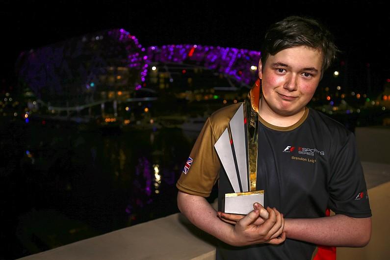 Leigh retains F1 title as Mercedes celebrate a virtual double