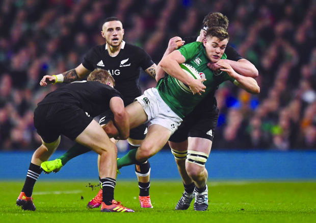 Irish stun All Blacks