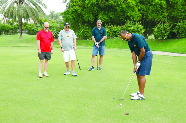 Al Hawaj 1 claim charity golf title