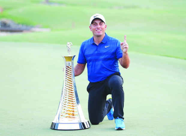 Molinari wins Dubai glory