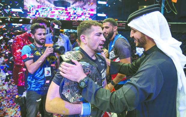 Bahrain fighters bag nine medals