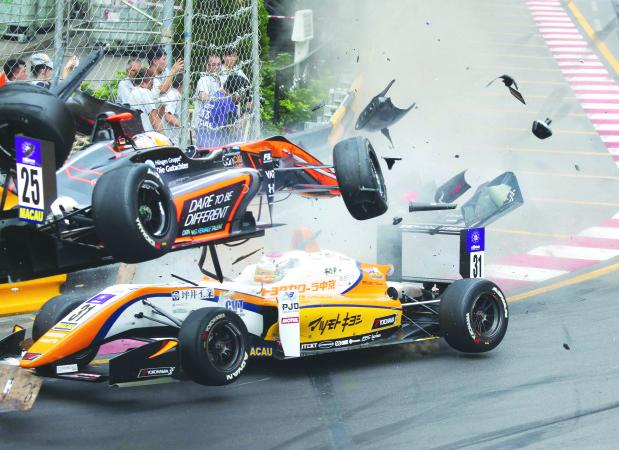 FIA to probe Macau F3 crash