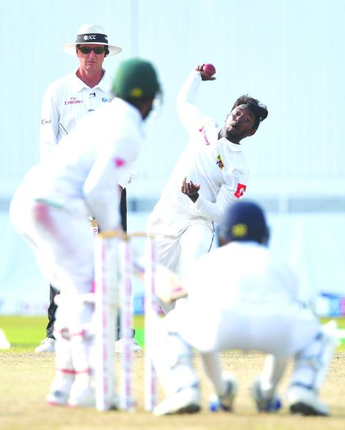 Sri Lanka spinner Akila Dananjaya out of Test