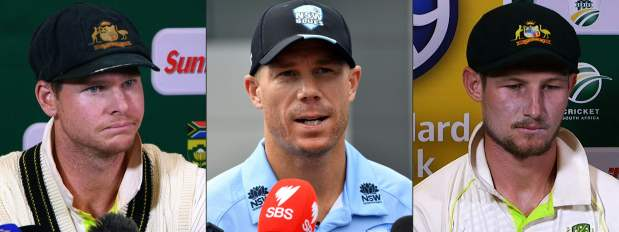 BANS STAND! Australian trio punishments 'appropriate'