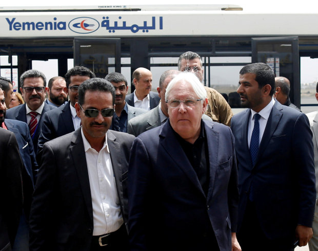 UN envoy takes Yemen peace bid to Hodeida