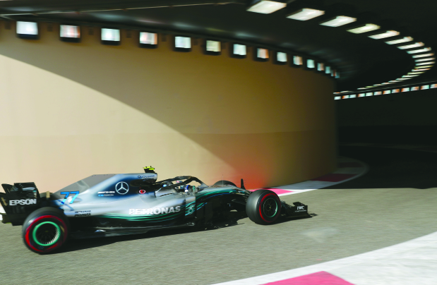 Bottas sets pace in free practice
