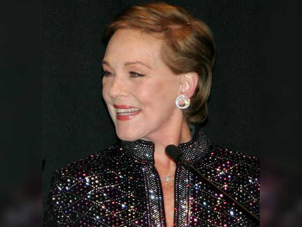 Julie Andrews to give voice to key character in 'Aquaman'