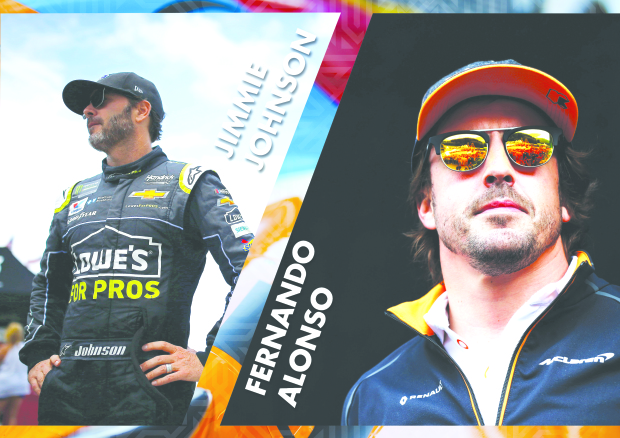 HISTORIC! Alonso and Johnson to swap cars