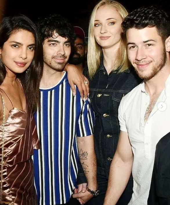 Bollywood: Priyanka, Nick step out with Sophie Turner and Joe in Mumbai