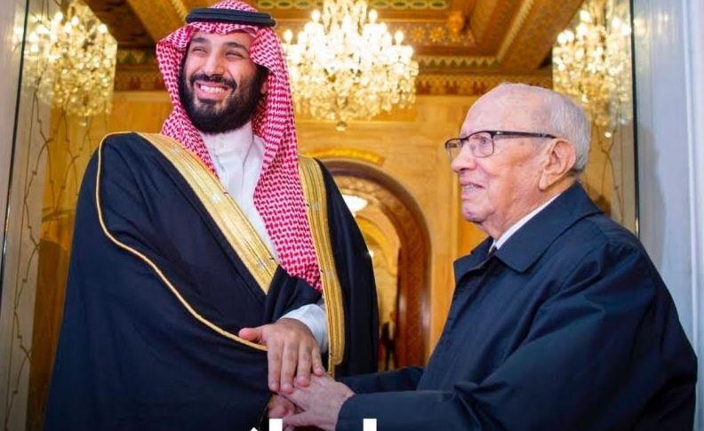 Saudi Crown Prince meets Tunisian President
