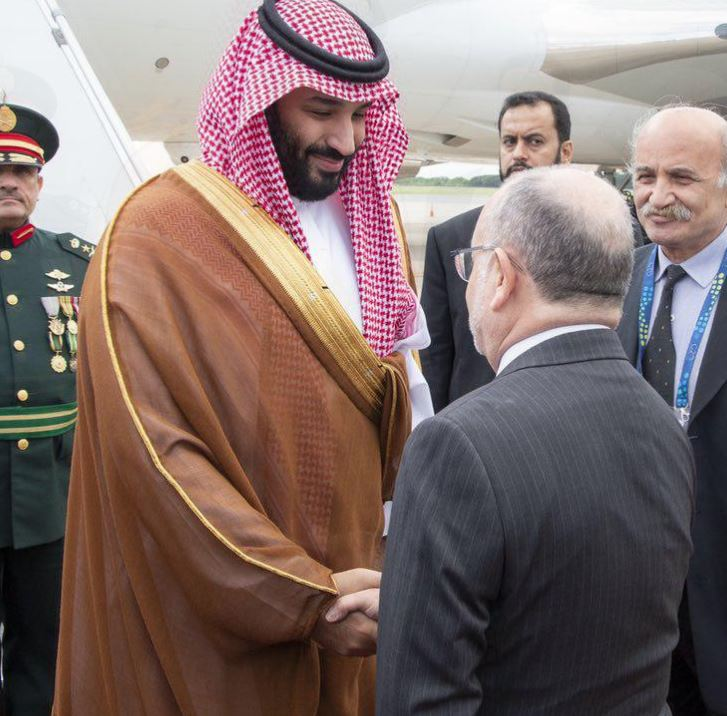 Saudi crown prince arrives in Buenos Aires for the G20 summit