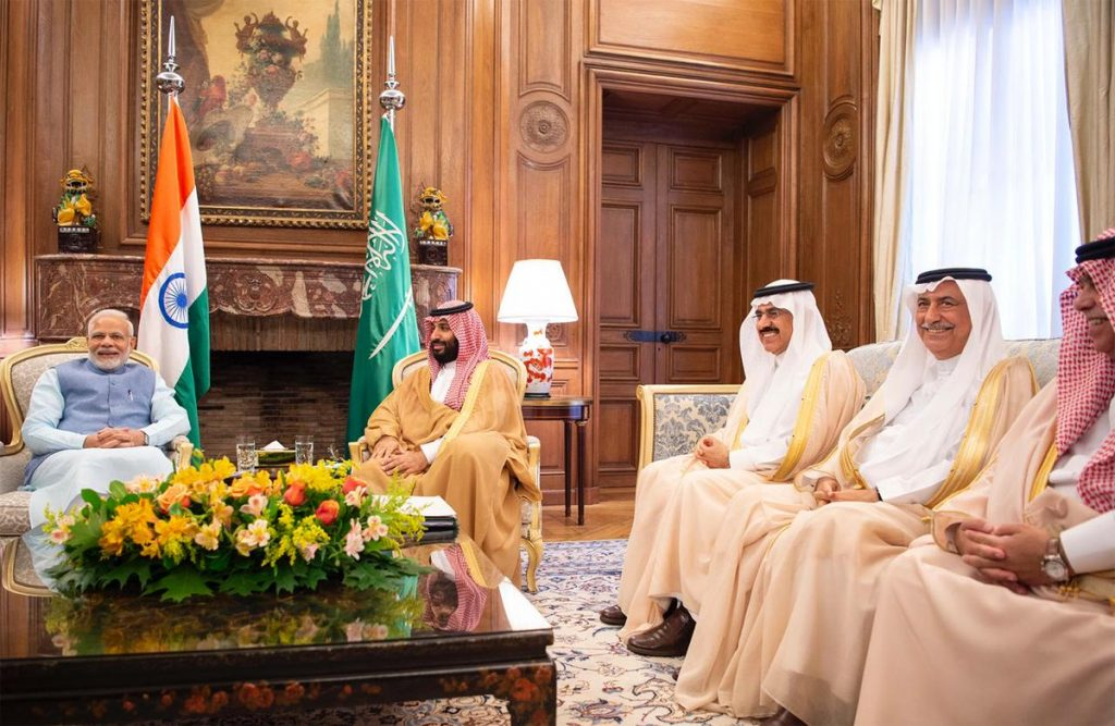 Saudi Crown Prince meets Indian Prime Minister