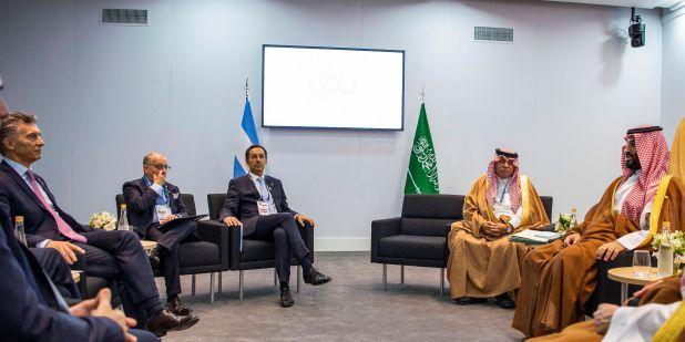 Saudi Crown Prince meets UN Secretary General