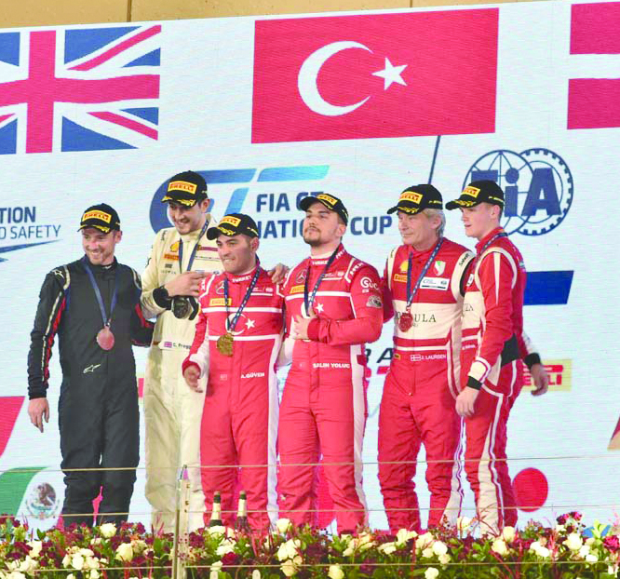 Team Turkey make history at BIC