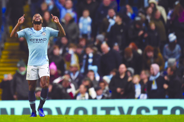 English Premier League: Sterling stars in City win