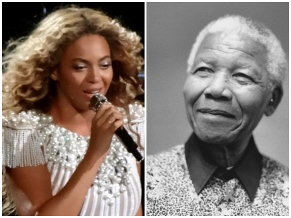 Beyonce pays tribute to Nelson Mandela at Global Citizen Festival