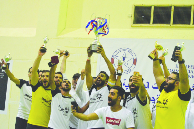 BBK claim futsal title with ease