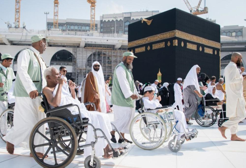 Two hours reserved for people with special needs to circumambulate Kaaba