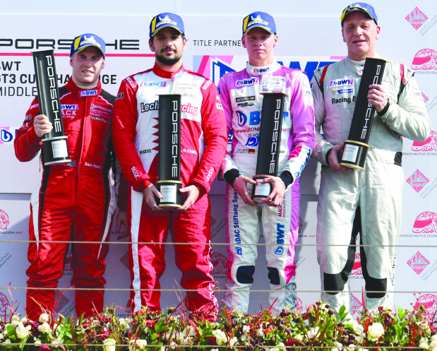 Al Zubair claims Porsche GT3 Cup